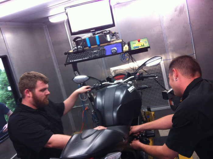 Ducati Diavel Dyno Work