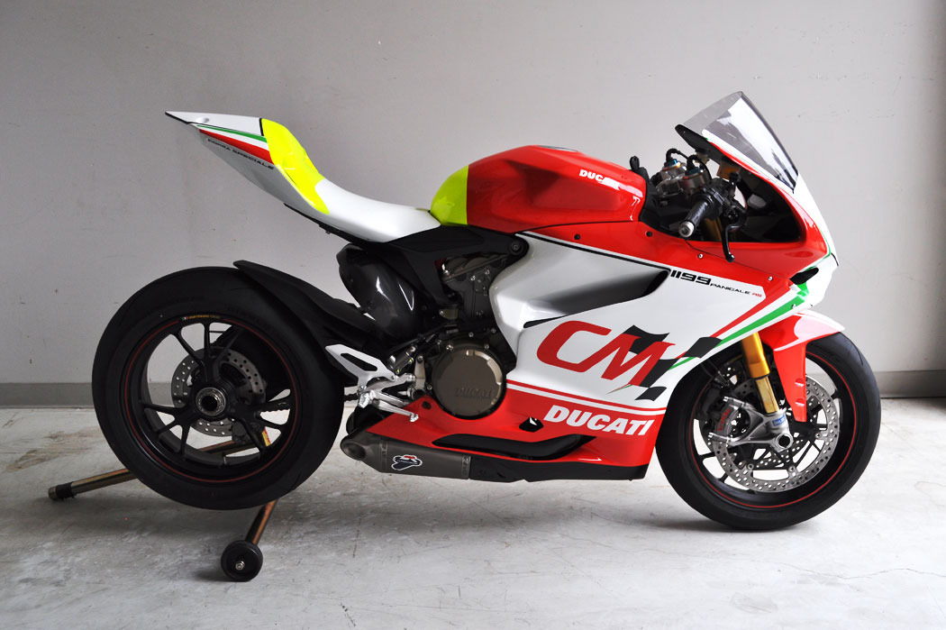 Commonwealth's 1199 Panigale RS Corsa Speciale Racebike ...