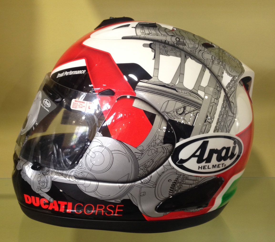 This Just In Ducati Corse 14 Helmet Welcome To