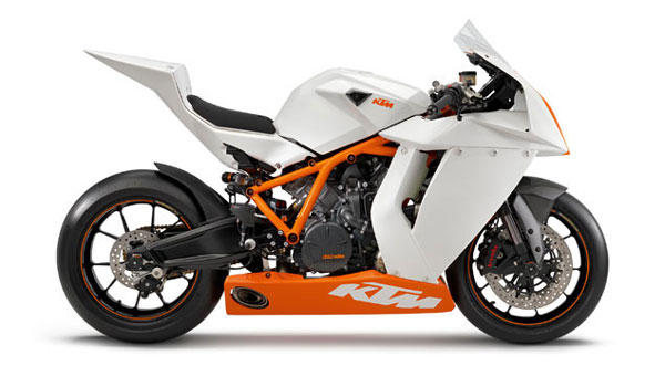 2012 KTM 1190 RC8R Track Use Only