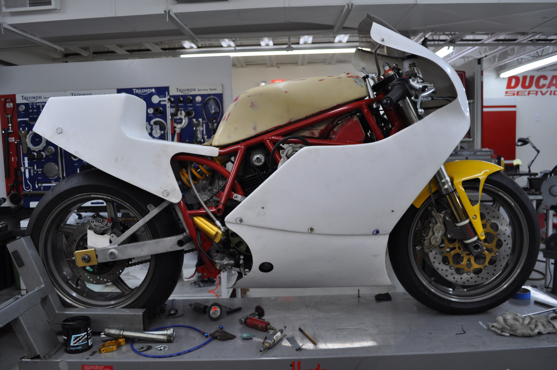 Commonwealth Motorcycle 1985 Ducati F1 Project Welcome