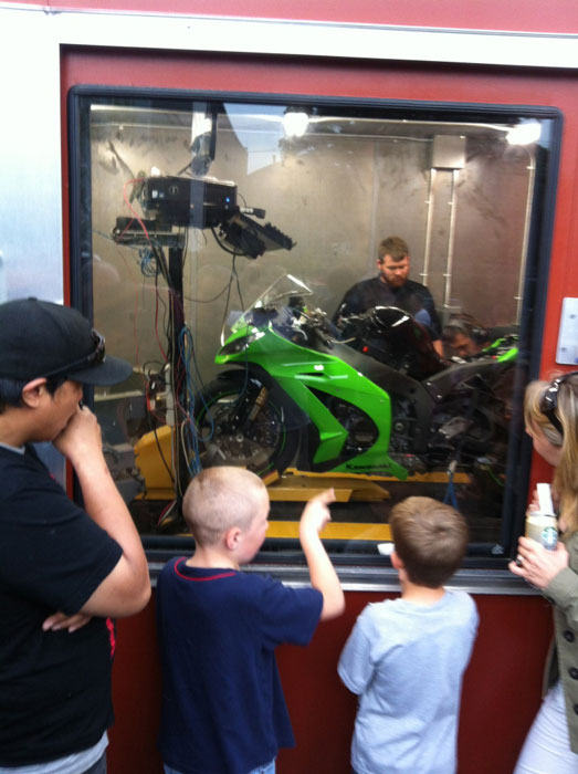 Doing some Dyno work